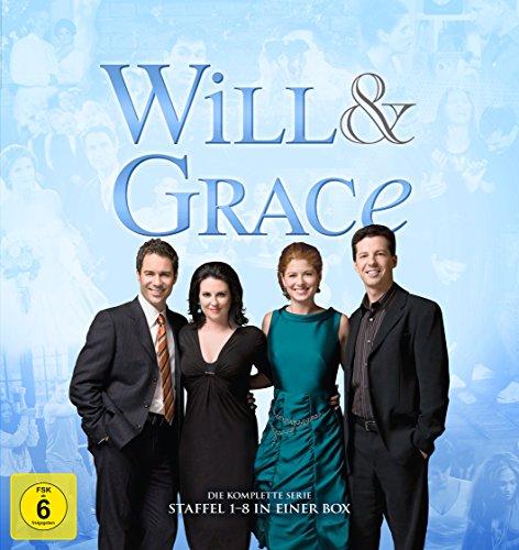 Will & Grace - Die komplette Serie (34 Discs) -