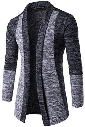 whatlees-unisex-hip-hop-urban-basic-basic-cardigan-cardigan-with-contrasting-inset-b339-darkgrey-l