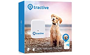 Tractive Dog GPS Tracker –Lightweight and waterproof dog tracking device with unlimited range