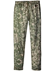 Hot Chillys Funktions Midweight Print - Pantalones de compresión de running para niño, color verde, talla XL