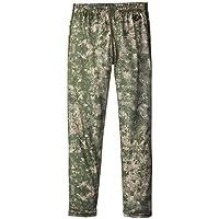 Hot Chillys Funktions Midweight Print - Pantalones de compresión de running para niño, color verde, talla M