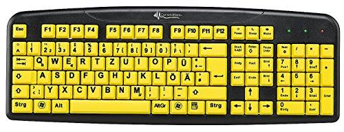 Komfort-Tastatur mit Großschrift-Tasten
