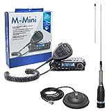 Midland CB-Funk-Kit M-Mini mit Zigarettenanzünder-Stecker im Lieferumfang enthalten ML145 CB-Antenne