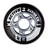 K2 Rollenset 76 mm Active Wheel 4-Pack, mehrfarbig, One Size, 30B3001.1.1.1SIZ