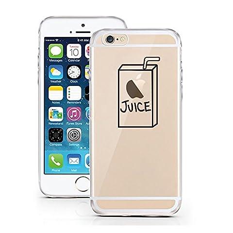 iPhone 6 6S cas par licaso® pour le modèle Jus de Pomme le Collège Enfance TPU 6 Apple iPhone 6S silicone ultra-mince Protégez votre iPhone 6 est élégant et couverture voiture cadeau