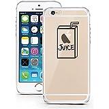 iPhone 5 Caso 5S por licaso® para el patrón de Apple iPhone 5 5S SE Apple Juice Zumo de Manzana Frutas TPU de silicona ultra-delgada proteger su iPhone 5S es elegante y cubierta regalo de coches