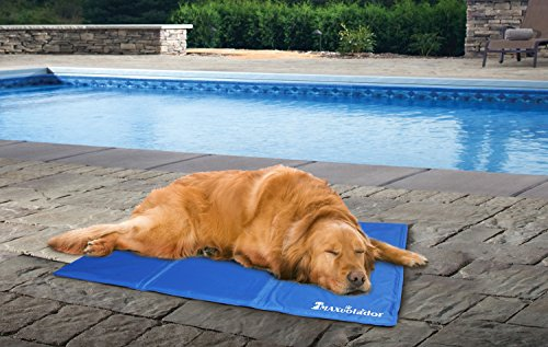 Lauva Dog Cool Mat, Dogs Self Cooling Non-Toxic Gel Mat Pads Mattress Pet Cat Cool Beds Extra Large for Dog Crates… 4