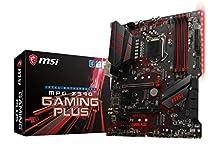 MSI MPG Z390 GAMING PLUS Scheda Madre, Socket LGA 1151, Nero