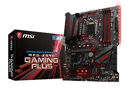 MSI MPG Z390 Gaming Plus, LGA 1151 Mainboard (DDR4, 2X Turbo M.2, 8x USB 3.1, 2X Gen2 und 6X Gen1)
