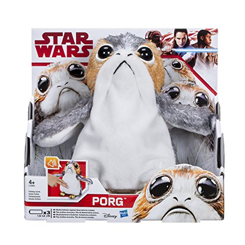 STAR WARS The Last Jedi Porg Electronic Plush Doll