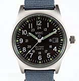 MWC G10 LM Military Watch with 12/24 Hour Dial