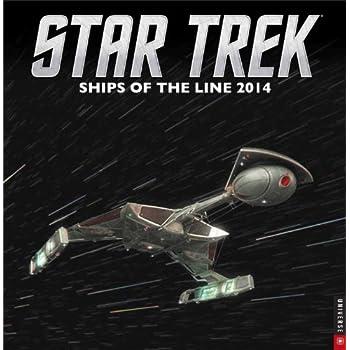 Star Trek 2014 Wall Calendar: Ships of the Line