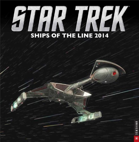 Star Trek 2014 Wall Calendar: Ships of the Line par Cbs