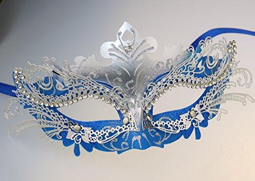 Coddsmz Princess Metal Rhinestone Venetian Pretty Party Evening Prom Masquerade Mask