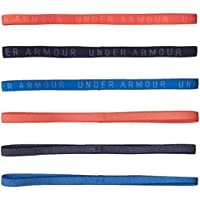 Under Armour–Maglietta Heathered mini Headbands–6confezione, Donna, Fascia da testa, Women's Heather Mini Headband (6pk), Blue Circuit (436)/Blue Circuit, One Size