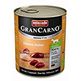 Animonda GranCarno Adult Sensitive Huhn pur | 6x 800g Hundefutter