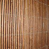 MA-Trading–Mimbre 2x 3m Natural Estera Resistente a la intemperie alambre