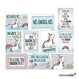 2 x 10 Postkarten mit Einhorn-Motiven I dv_338 I DIN A6 I Spruch-Karten Set lustig witzig Zitate Freundschaft Motivation für Bilderrahmen beste Freundin