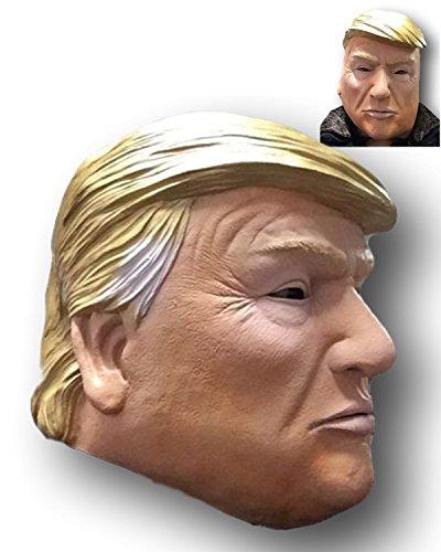 Rubber Johnnies TM Donald Trump Latex Maske, Billionaire, US-amerikanischer US-Präsident, Politiker, Kostüm
