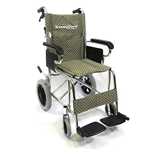 KosmoCare Elite Compact Lightweight Foldable Wheelchair