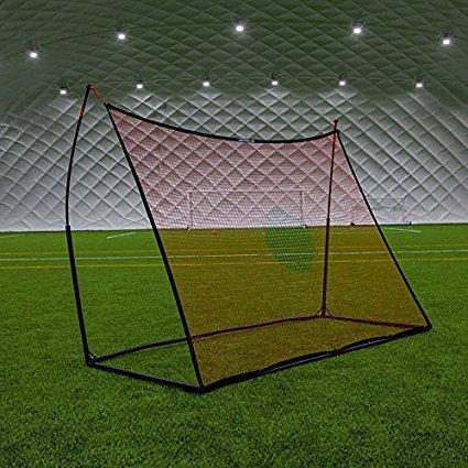 Schnelle und einfache Set bis Elite 8x 6Ft (2,4x 1,8m) tragbar Rückprallwand Spot/free-kick Wand, robust und langlebig 1018Stahl Konstruktion Fußball Training Ausrüstung