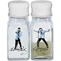 Elvis Presley - Blue Suede Shoes Salt And Pepper Shakers by GGS