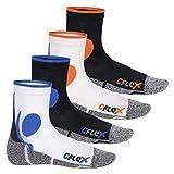 CFLEX Damen und Herren Running Funktions-Socken (4 Paar) Laufsocken - All Colours 39-42
