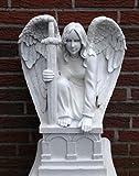 SSITG Engel mit Schwert Erzengel Michael Gartenfigur Figur 49cm