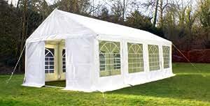 Tente de Réception de Luxe - 4m x 8m - Blanche