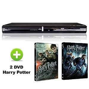 Takara kdv102 bpkh lecteur dvd hdmi usb sd + 2 dvd harry potter