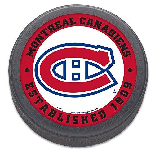 Wincraft NHL Eishockey Puck Montreal Canadiens