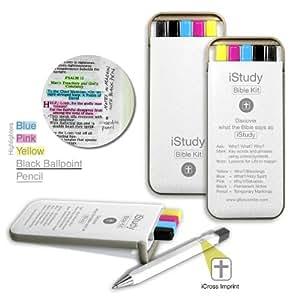 istudy Bible Kit (1234–5): Surligneurs, crayon, stylo,