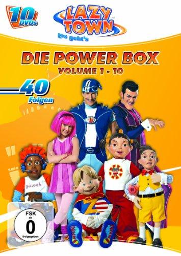 LazyTown - Die Power Box (10 DVDs)