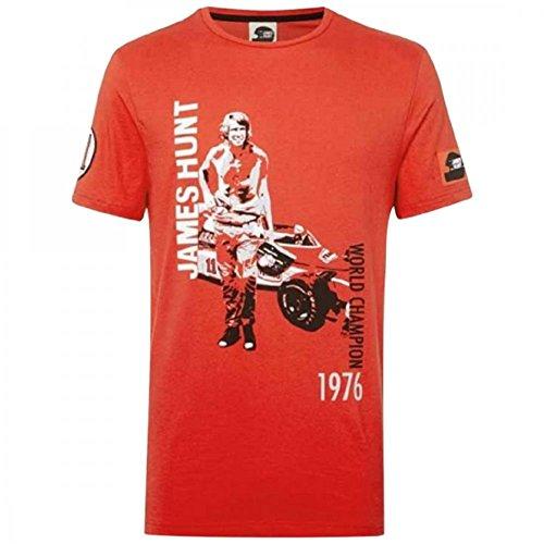 Hunziker Apparel Herren T-Shirt rot rot, rot