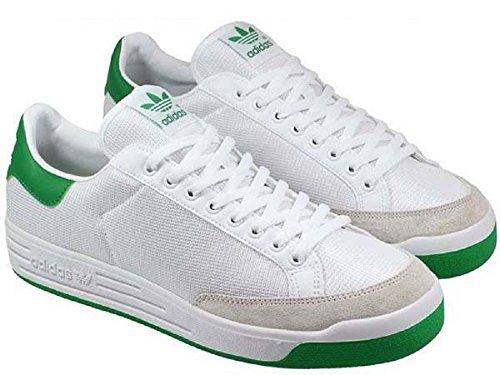 Adidas Herren Rod Laver (Adidas Rod Laver - runwht/runwht/fairwa, Größe:13)