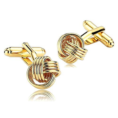 daesar-mens-stainless-steel-cuff-links-gold-special-knot-flower-cufflink