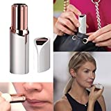 Beauty Boon Women's Painless Face Hair Remover Machine/Trimmer Shaver for Upper Lip, Chin, Eyebrow