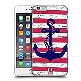 Head Case Designs Gestreift Anker Snap-on Schutzhülle Back Case für Apple iPhone 6 Plus 5.5
