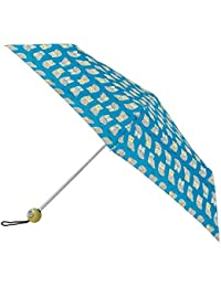 Totes Supermini 3 Section Umbrella With A Owl Print And A Character Handle