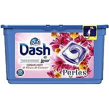Dash 2en1 Perles Lessive en Capsules Coquelicot & Fleurs de Cerisier 38Lavages