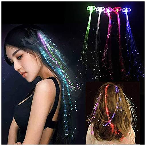 Novelty-Place-LED-Haare