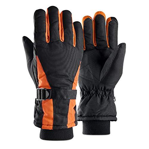 Oyfel - Guanti da Sci da Uomo e Donna, Invernali, Soldi, Caldi e Impermeabili, per Snowboard, Bicicletta, Moto