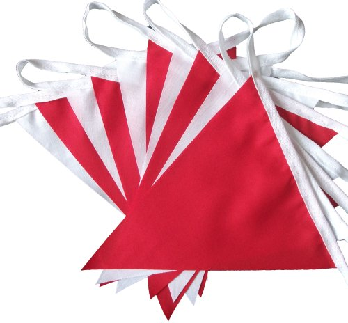 9mtrs-30-flags-red-and-white-fabric-bunting-banner-garland