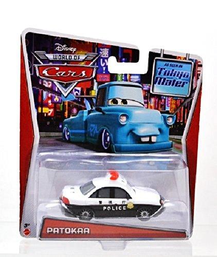 MATTEL Disney PIXAR CARS TOON Tokyo Mater PATOKAA POLICE Mattel Police