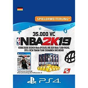 NBA 2K19 – 35.000 VC-Pack – 35.000 DLC | PS4 Download Code – deutsches Konto