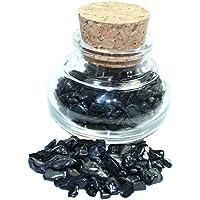 budawi® - Edelstein Turmalin im Dekoglas ca. 79g, echte Edelsteine getrommelt preisvergleich bei billige-tabletten.eu
