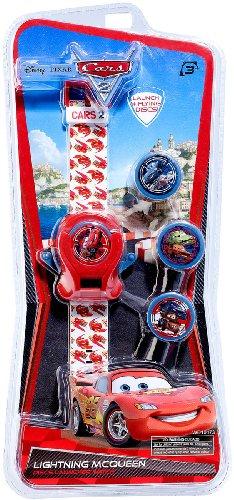 Kinderarmbanduhr - Disney Pixar Cars 2 Lightning Mc Queen (Lightning Mcqueen Uhr)