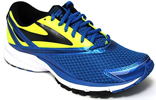 Brooks Launch 4, Chaussures de Course Homme Multicolore (Methyl Blue/nightlife/black)