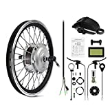 AFTERPARTZ® Elektro-Fahrrad Umbausatz Vorderrad Nachrüstsatz E-Bike 250W 36V 25km/h (16'')