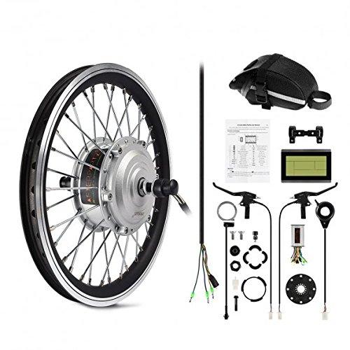 Kit de conversion AfterPartz en Vélo électrique - Roue avant moteur + accessoires